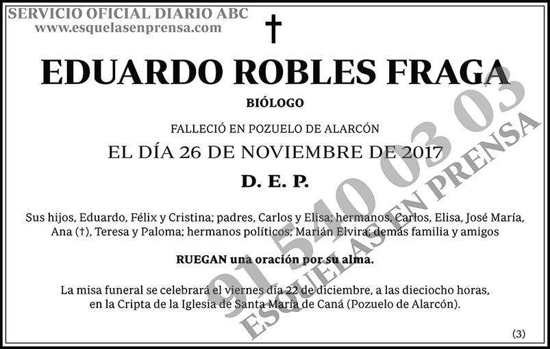 Eduardo Robles Fraga